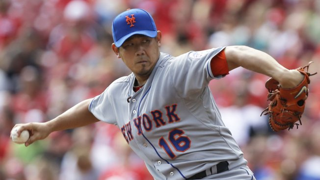 Dice-K, Mets Shut Down Reds 1-0