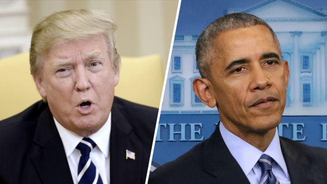 Trump Pins Blame for Syrian Attack on Obama Administration