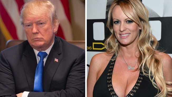 Porn Star Says Trump and Stormey Daniels Invited Her for Threesome