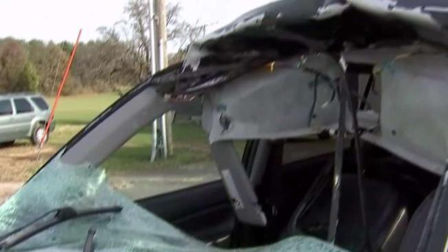 Airborne Deer Crashes Through Womans Windshield Into Back Seat On Busy NJ Highway