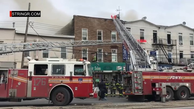 4 Injured After Fire Breaks Out at Brooklyn Building: FDNY