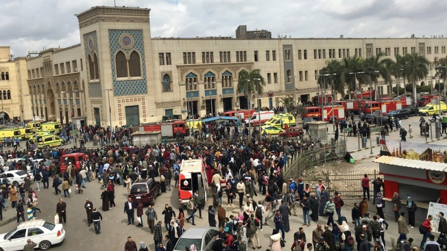 Egypt Train Crash, Fire at Central Cairo Station Kills 25