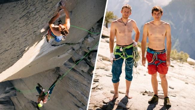 Climbers Alex Honnold, Tommy Caldwell Smash El Capitan's Climb Record