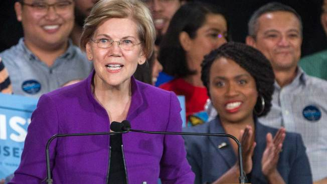 Rep. Ayanna Pressley Backs Warren for President, Breaking With Other 'Squad' Members Who Endorsed Sanders