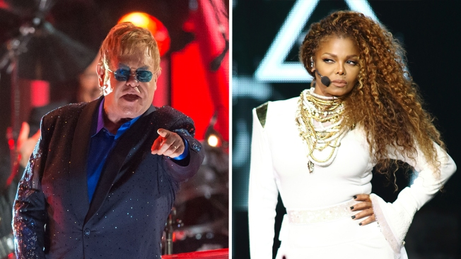 Elton John Claims Janet Jackson Lip-Syncs: 'I'd Rather Go and See a Drag Queen'