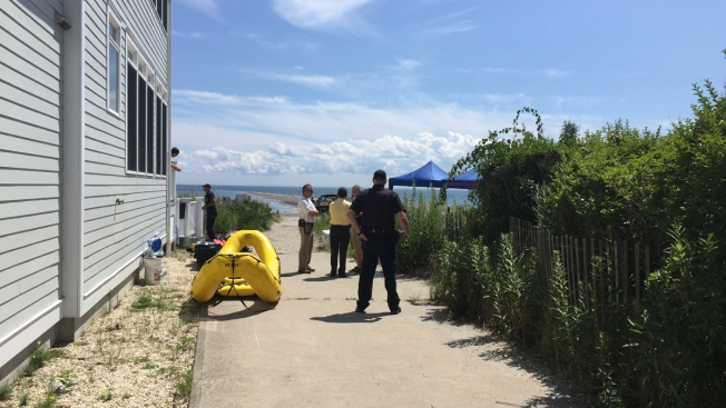 Crews Search For Two Fishermen Off Fairfield
