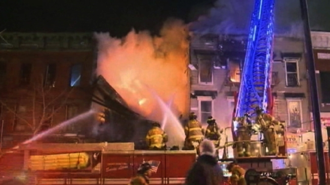 2 Buildings Destroyed in Jersey City Blaze: Firefighters