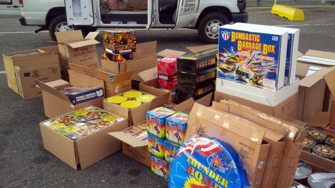 NYC Man Arrested in NJ With Van Full of Fireworks