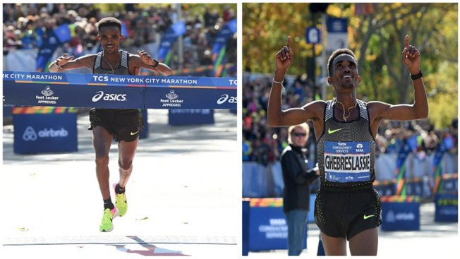 Eritrean 20-year-old Ghirmay Ghebreslassie Wins New York City Marathon in Men's Field, Becomes Youngest Male Winner in New York