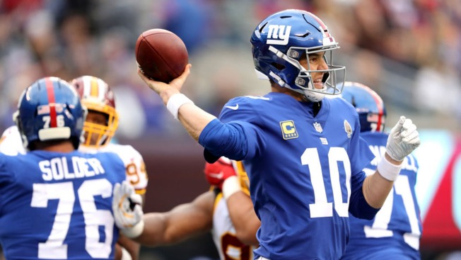 Redskins Beat Giants 20-13 to Win Third Straight Game