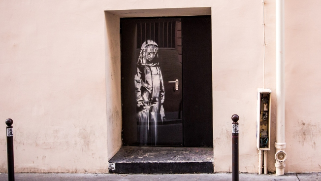 French Police Investigate Theft of Banksy Art at Bataclan Terror Attack Site