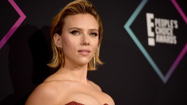 Actress Scarlett Johansson Has a Paparazzi Scare After Talk Show Taping