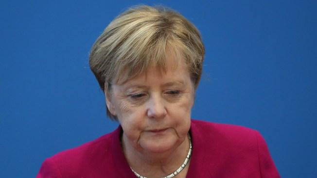 Angela Merkel Won't Seek 5th Term as German Chancellor