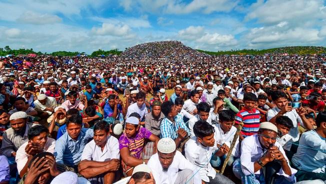 Rohingya Refugees Rally to Mark 2nd Anniversary of Exodus