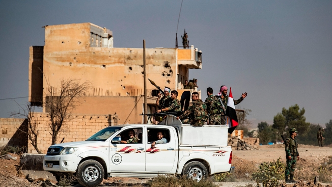 Syria Says Turkish-Led Forces Attacked Its Troops