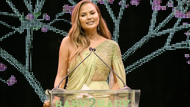 Chrissy Teigen Honored at Baby2Baby Gala