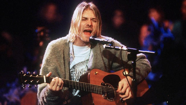 Kurt Cobain's 'Unplugged' Sweater and Guitar Head to Auction