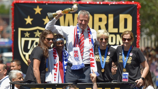 Women's Soccer Parade Produced Over 29 Tons of Debris in NYC
