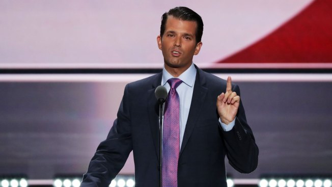 Donald Trump Jr. Likens Syrian Refugees to Poisoned Skittles