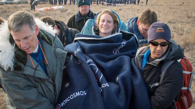 Multinational Space Station Crew Returns Safely to Earth