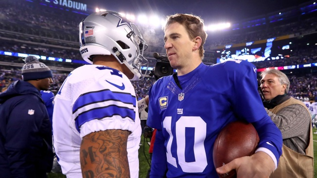 Record-Setting Witten, Cowboys Top Giants 19-3 in Opener