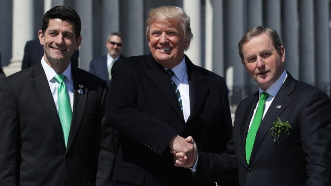Ireland's Leader Pushes Trump on Irish in US Illegally
