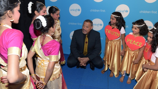 Actor Laurence Fishburne Recognized with UNICEF Award