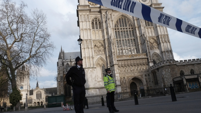 Man With Knife Arrested Near British Parliament; No Injuries