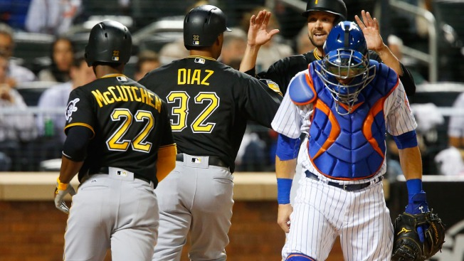 Mets Fall to Pirates, 12-7
