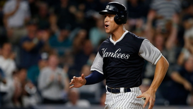 2b9a80144e0 Players Weekend Means Yankees Break with Uniform Tradition - NBC New ...