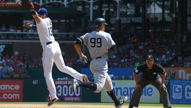 Yankees Beat Rangers, 16-7