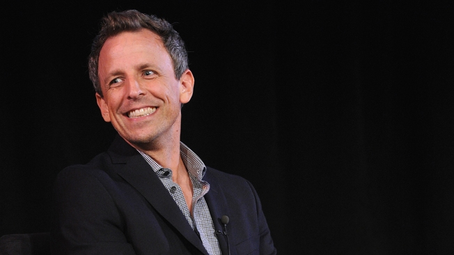 Seth Meyers Honored by NYC Mayor's Office of Media and Entertainment