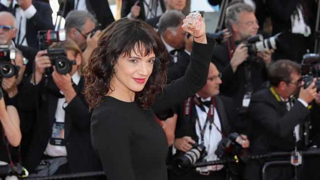 Asia Argento, Weinstein Accuser, Vows at Cannes That Justice Will Come