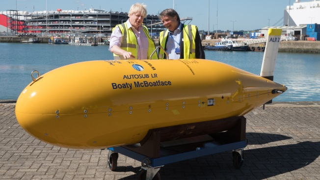 British Sub Boaty McBoatface's 1st Mission Provides Significant Data to Scientists Studying Climate Change