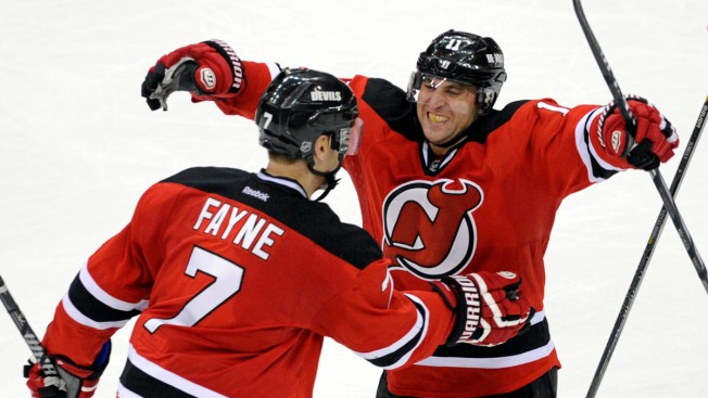 Stephen Gionta's Goal Lifts Devils Over Red Wings