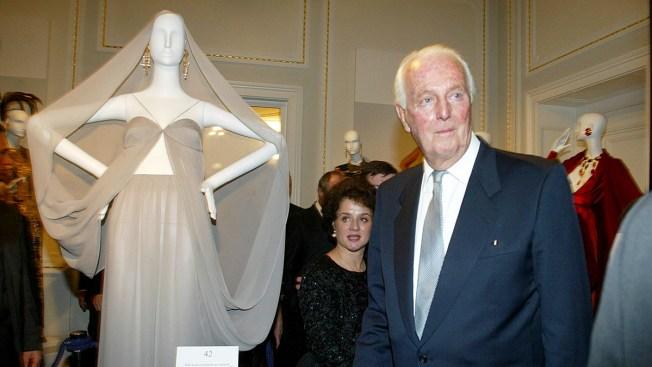Givenchy, Designer of Hepburn's Little Black Dress, Dies at 91