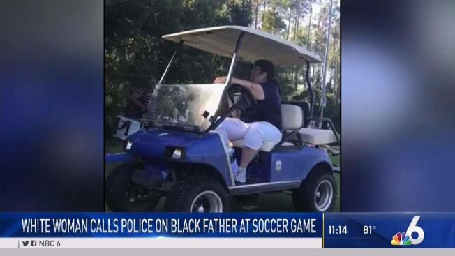 Golf Cart Gail' Called Cops on Black Dad at Soccer Game in Florida Black And Grey Golf Carts on beach buggy cart, grey fifth wheel, car cart,