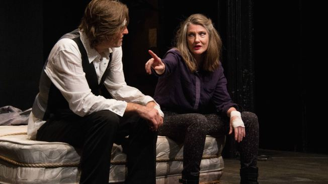 'Hamlet in Bed,' With Michael Laurence and Annette O'Toole, Kicks off Rattlestick Season