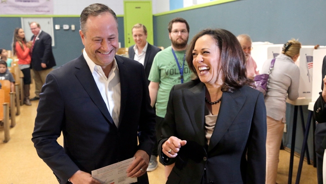 Harris' Husband Takes on Growing Public Role in 2020 Race