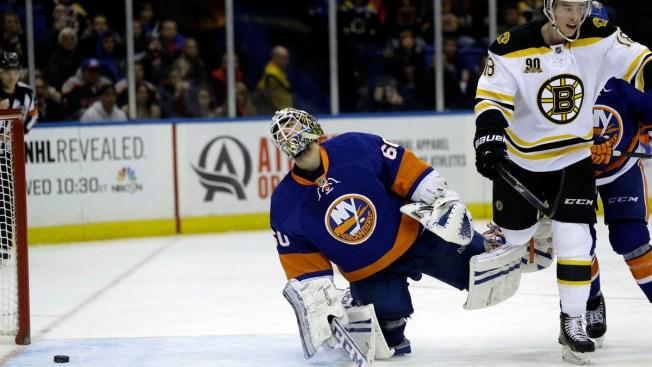 Islanders Fall to Bruins 6-3