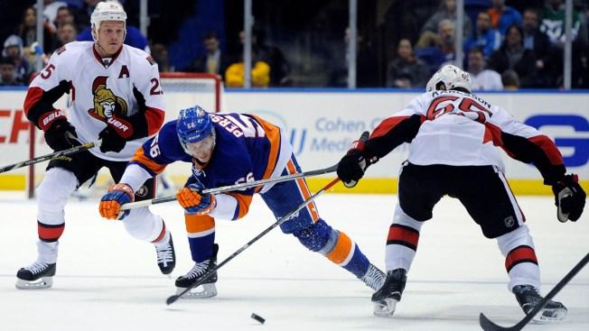 Islanders Outgunned by Spezza, Senators 4-1