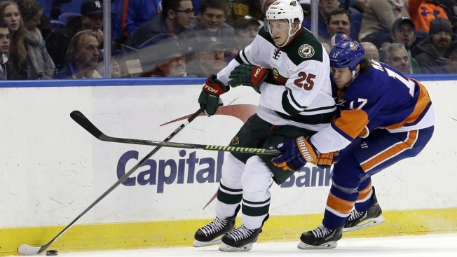 Islanders Routed by Moulson, Wild 6-0