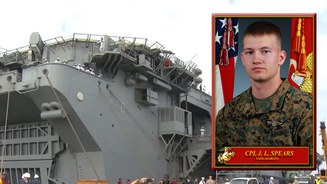 Navy IDs Marine Presumed Dead at Sea