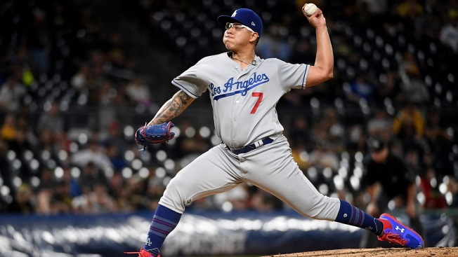 Dodgers' Urías to Serve 20-Game Domestic Violence Penalty
