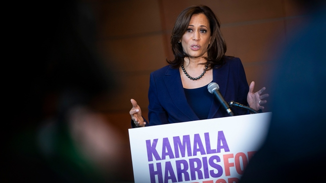 Rivals Defend Kamala Harris Against Online Attacks They Compare to 'Birtherism'