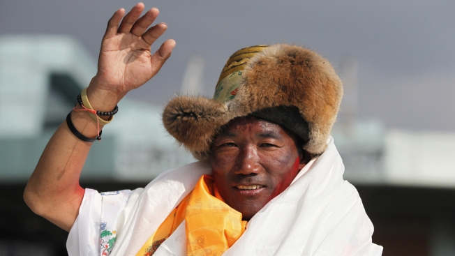 Sherpa Guide Climbs Everest 24th Time, Outdoing Own Record