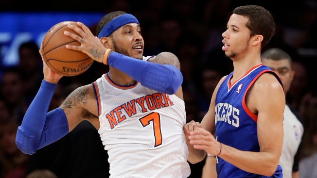Knicks Fall to 76ers for 5th-Straight Loss