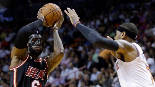 Knicks Routed by James, Heat 108-82
