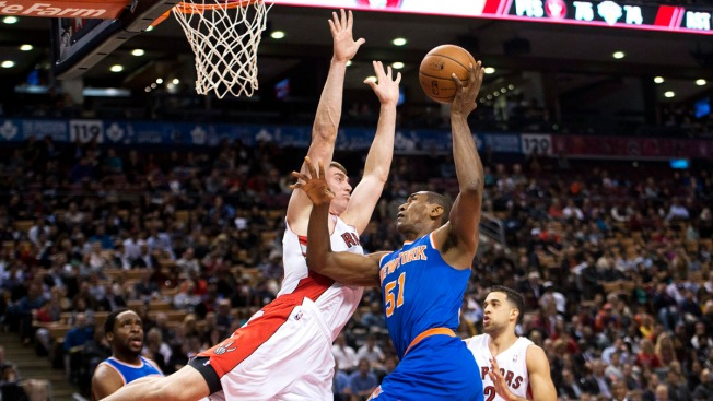 Knicks Fall to Raptors 123-120 in Double Overtime