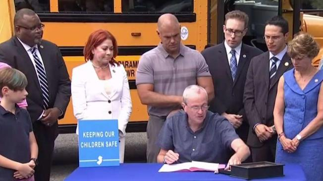 NJ Law Requires 3 Point Seat Belts On School Buses